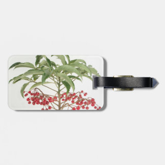 Spice Berry Luggage Tag