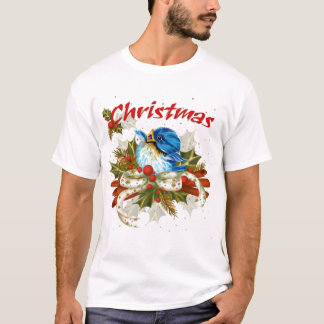 SPICE BIRD CHRISTMAS CARTOON Men's Basic T-Shirt