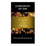 Spice indian oriental business profile CUSTOM Business Card