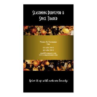 Spice indian oriental business profile CUSTOM Business Card Template