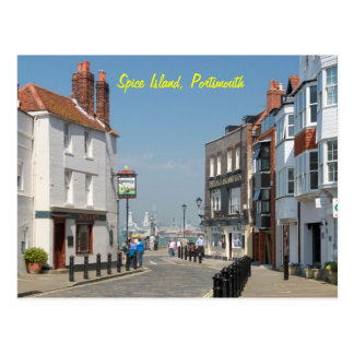 Spice Island - Portsmouth Postcard