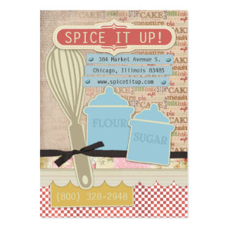 Spice It Up Chubby Business Cards