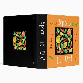 Spice, It, Up!,  Kaboom!, ..Recipe notebook. Binder