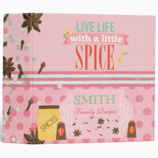Spice Of Life Recipe Binder