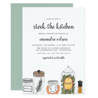 Spice Rack | Kitchen Bridal Shower Invitation