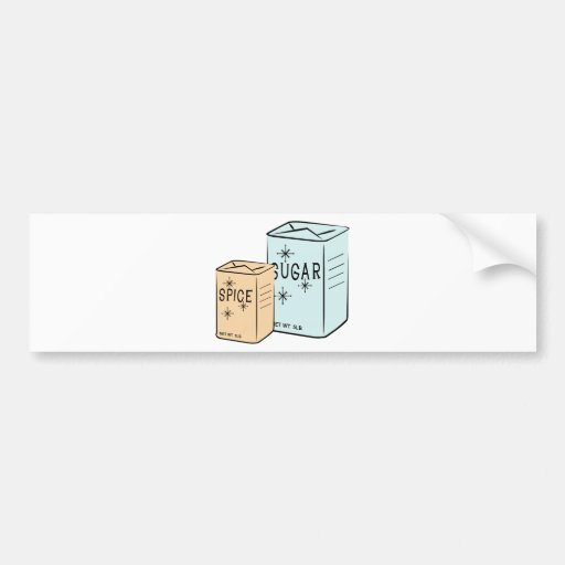 Spice Sugar Bumper Stickers