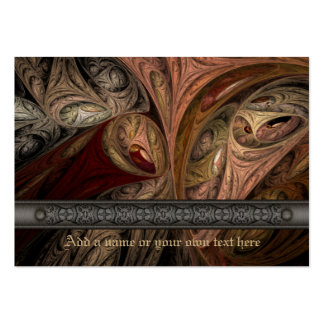 Spice Twist Fractal Art Large Business Card