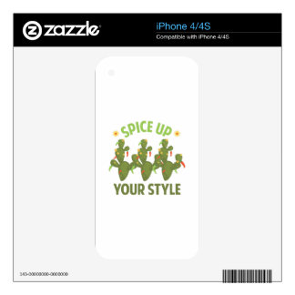 Spice Up Decal For The iPhone 4S