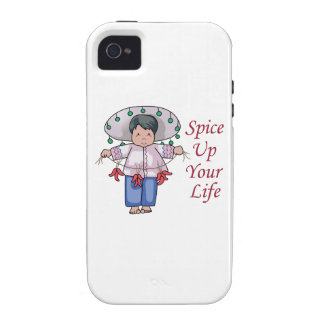 Spice Up Your Life Vibe iPhone 4 Covers