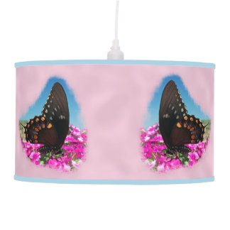 Spicebush Swallowtail Butterfly Hanging Pendant Lamps