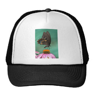 Spicebush Swallowtail Butterfly - Papilio troilus Trucker Hat