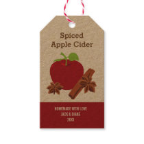 Spiced Apple Cider, Apple Butter, Gift Tag