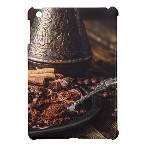 Spiced coffee case for the iPad mini