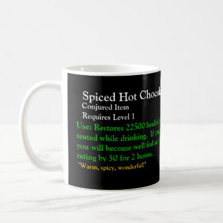 Spiced Hot Chocolate, Conjured Item, Requires L... Coffee Mug