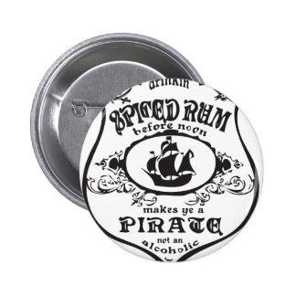 Spiced Rum Button