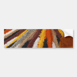 spices-73770 spices spice mix colorful curry peppe bumper sticker