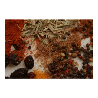 Spices and Condiments Print