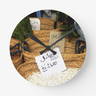 Spices Round Wall Clocks