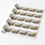 spices gift wrapping paper
