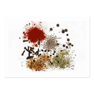 Spices Large Business Card