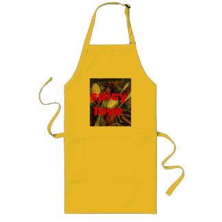 spices love themed custom apron