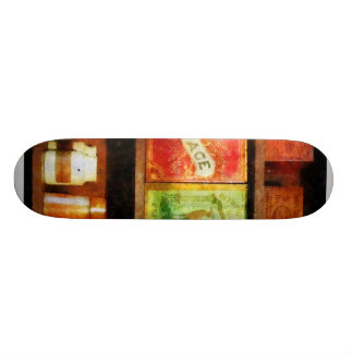 Spices on Shelf Custom Skateboard