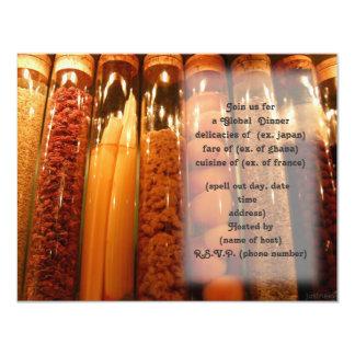 spices party invite