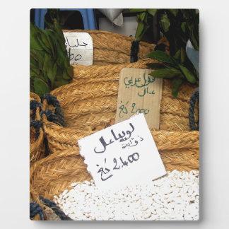 Spices Photo Plaques