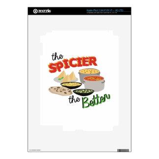 Spicier Better iPad 3 Skin