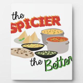 Spicier Better Plaque