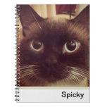Spicky Spiral Note Book