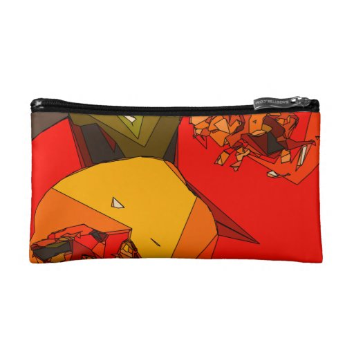Spicy Bell Pepper Trio Cosmetic Bag