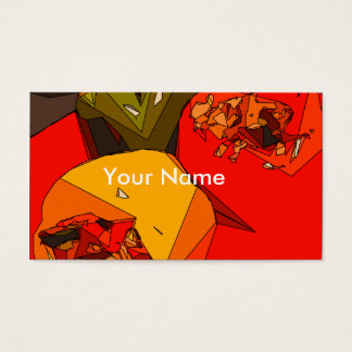 Spicy Bell Pepper Trio Business Card