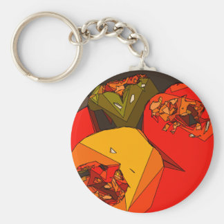 Spicy Bell Pepper Trio Key Chains