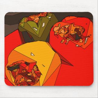 Spicy Bell Pepper Trio Mousepad
