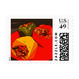 Spicy Bell Pepper Trio Stamp