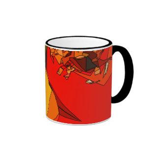 Spicy Bell Pepper Trio Ringer Mug