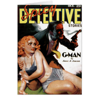 """Spicy Detective  - """"G-Man"""" Card"""