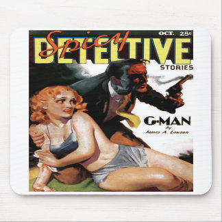 "Spicy Detective  - ""G-Man"" Mousepad"
