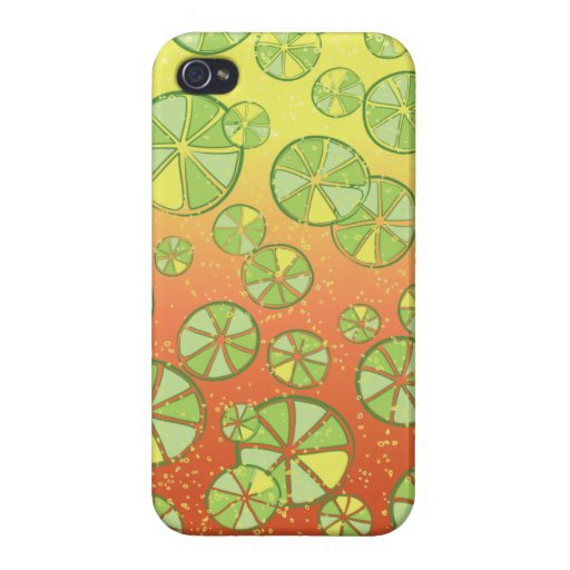 Spicy Fiesta Margarita & Limes Case For iPhone 4