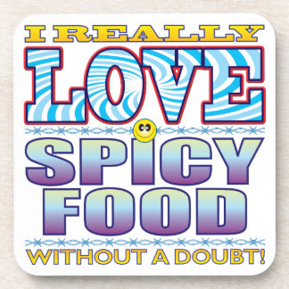 Spicy Food Love Face Coasters