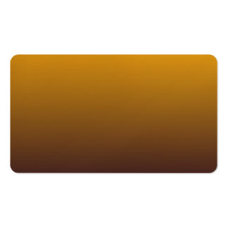 Spicy Gold Brown Ombre Business Card
