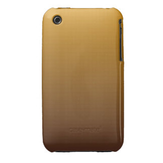 Spicy Gold Brown Ombre Case-Mate iPhone 3 Case