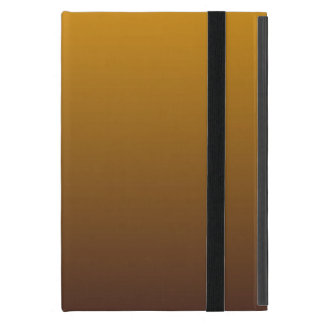 Spicy Gold Brown Ombre Cover For iPad Mini