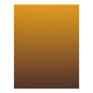 Spicy Gold Brown Ombre Flyer