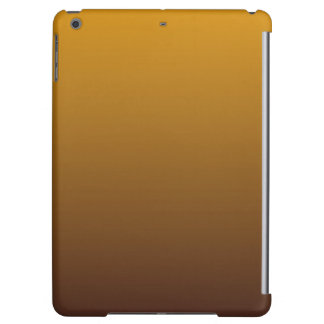 Spicy Gold Brown Ombre iPad Air Case