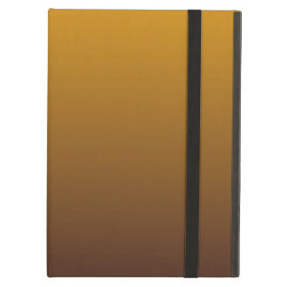Spicy Gold Brown Ombre iPad Air Cover