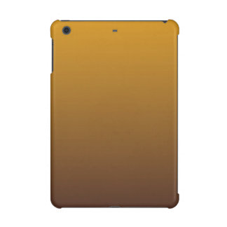 Spicy Gold Brown Ombre iPad Mini Cover
