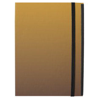 """Spicy Gold Brown Ombre iPad Pro 12.9"""" Case"""