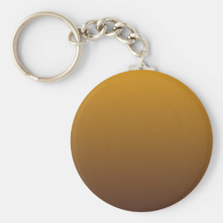 Spicy Gold Brown Ombre Keychain